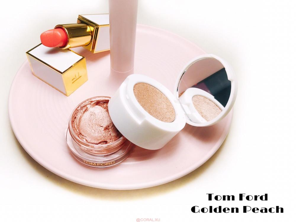 "20181001164641 - Tom Ford Cream and Powder Eye Color in ""Golden Peach"" Review"